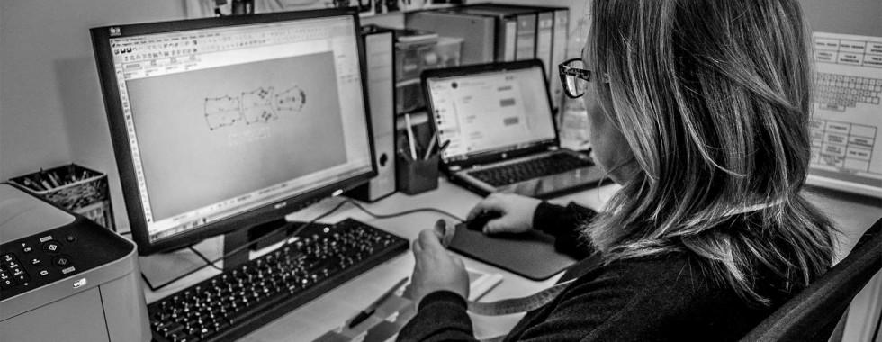 Cartamodelli lavorati in formato digitale