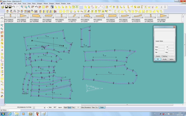 La creazione di un cartamodello in digitale
