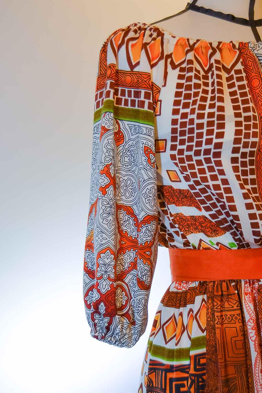 Prototipo di un abito da donna - Dettaglio