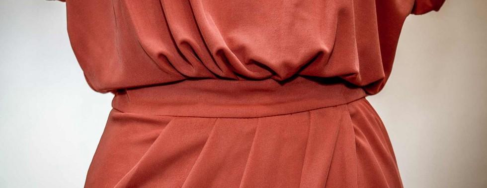 Prototipo di un vestito da donna - Dettaglio